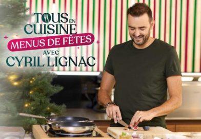 « Tous en cuisine avec Cyril Lignac » : les « Menus de fête » dès le lundi 21 décembre 2020