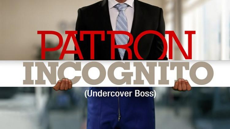 « Patron Incognito » lundi 24 mai 2021
