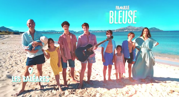 « Familles nombreuses : la vie au soleil » : la famille Bleuse