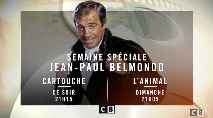 Hommage télé à Jean-Paul Belmondo