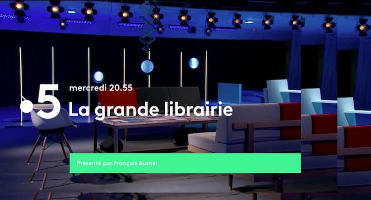 « La grande librairie » du 8 septembre 2021