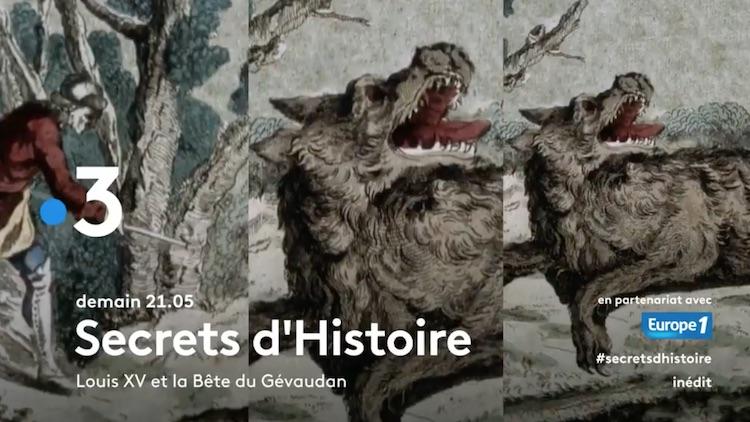 « Secrets d'histoire » du lundi 27 septembre 2021
