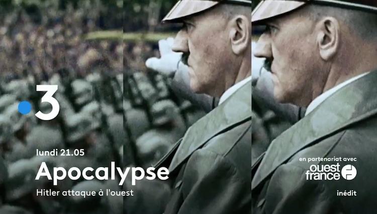« Hitler attaque à l'ouest »